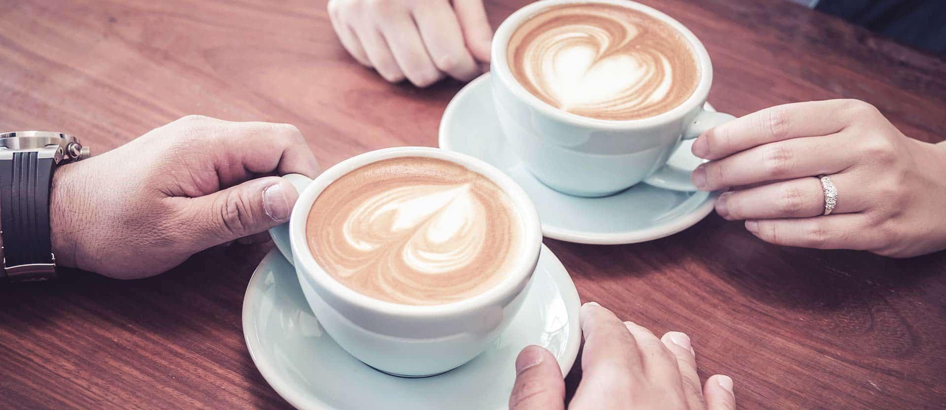 koffie en een babbeltje