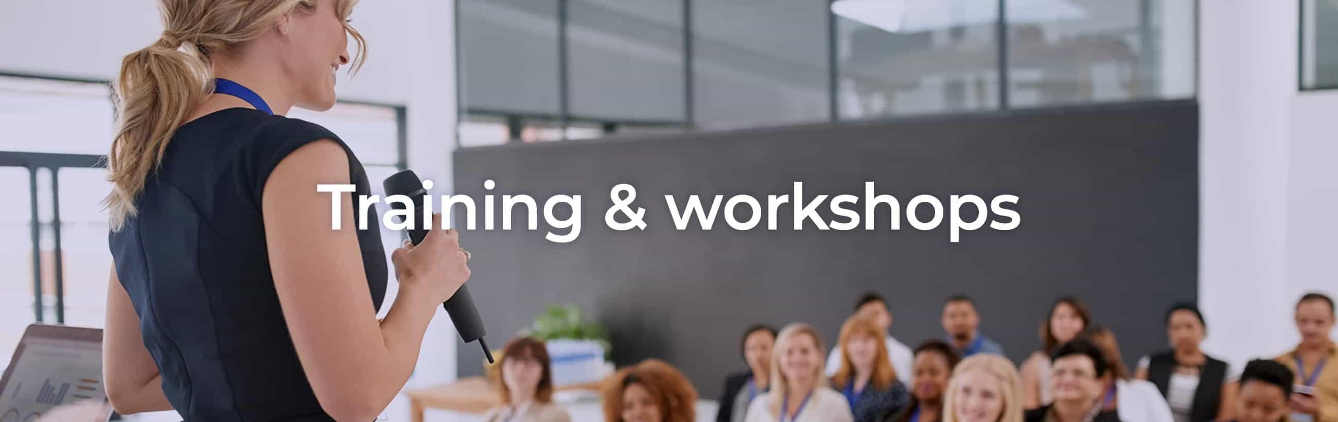 Training & workshops b2b - Blueberry Hill